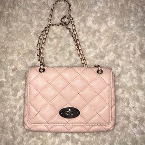 Handbags - Pink Quilted Crossbody bag